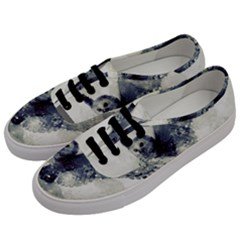 Cute Owl In Watercolor Men s Classic Low Top Sneakers by FantasyWorld7