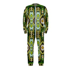 Bread Sticks And Fantasy Flowers In A Rainbow OnePiece Jumpsuit (Kids)