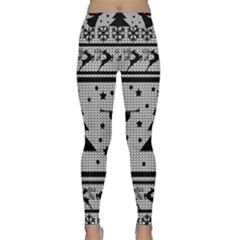Ugly Christmas Sweater Classic Yoga Leggings