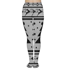 Ugly Christmas Sweater Women s Tights