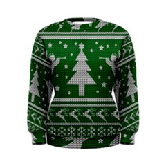 Ugly Christmas Sweater Women s Sweatshirt by Valentinaart