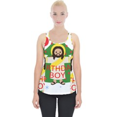 Jesus   Christmas Piece Up Tank Top