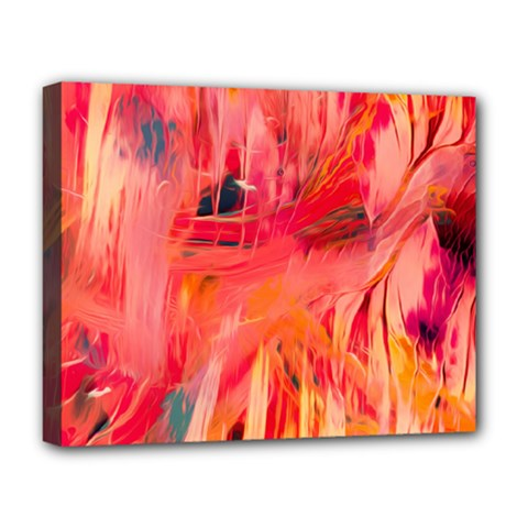 Abstract Acryl Art Deluxe Canvas 20  X 16   by tarastyle