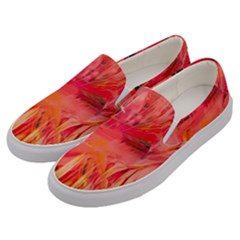Abstract Acryl Art Men s Canvas Slip Ons by tarastyle