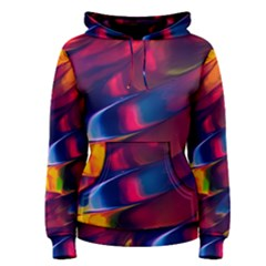 Abstract Acryl Art Women s Pullover Hoodie by tarastyle