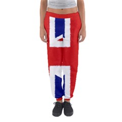 Union Jack Pencil Art Women s Jogger Sweatpants by picsaspassion