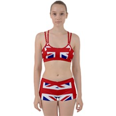 Union Jack Watercolor Drawing Art Women s Sports Set by picsaspassion
