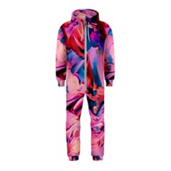 Abstract Acryl Art Hooded Jumpsuit (kids) by tarastyle