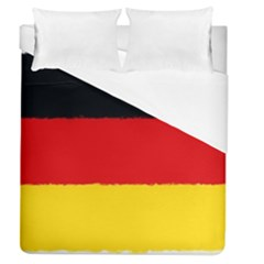 German Flag, Banner Deutschland, Watercolor Painting Art Duvet Cover (queen Size) by picsaspassion