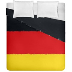 German Flag, Banner Deutschland, Watercolor Painting Art Duvet Cover Double Side (california King Size) by picsaspassion