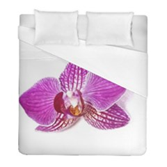 Lilac Phalaenopsis Aquarel  Watercolor Art Painting Duvet Cover (full/ Double Size) by picsaspassion