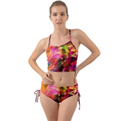 Abstract Acryl Art Mini Tank Bikini Set by tarastyle