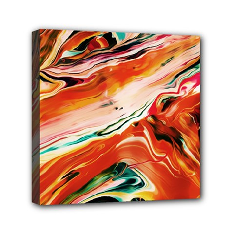 Abstract Acryl Art Mini Canvas 6  X 6  by tarastyle