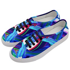 Abstract Acryl Art Women s Classic Low Top Sneakers by tarastyle