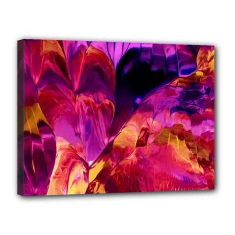 Abstract Acryl Art Canvas 16  X 12  by tarastyle