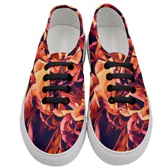 Abstract Acryl Art Women s Classic Low Top Sneakers