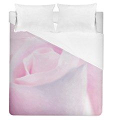 Rose Pink Flower, Floral Aquarel   Watercolor Painting Art Duvet Cover (queen Size)