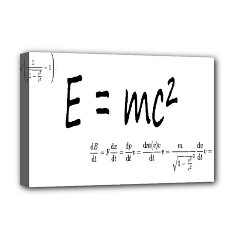 E=mc2 Formula Physics Relativity Deluxe Canvas 18  X 12   by picsaspassion