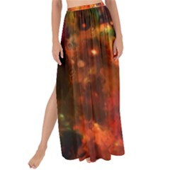 Abstract Acryl Art Maxi Chiffon Tie Up Sarong
