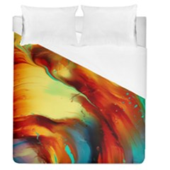 Abstract Acryl Art Duvet Cover (queen Size) by tarastyle