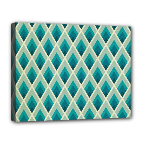 Artdecoteal Canvas 14  X 11  by 8fugoso