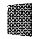 SCALES3 BLACK MARBLE & WHITE LINEN (R) Apple iPad Pro 10.5   Hardshell Case View3