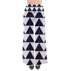 TRIANGLE2 BLACK MARBLE & WHITE LINEN Pants