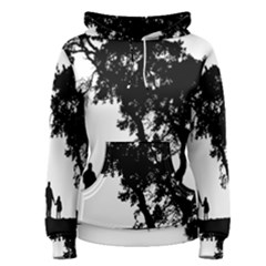 Black Father Daughter Natural Hill Women s Pullover Hoodie