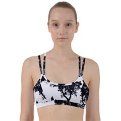 Black Father Daughter Natural Hill Line Them Up Sports Bra by Mariart