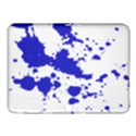 Blue Plaint Splatter Samsung Galaxy Tab 4 (10.1 ) Hardshell Case  View1