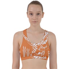 Animals Dinosaur Ancient Times Back Weave Sports Bra