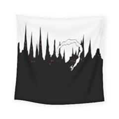 City History Speedrunning Square Tapestry (small)