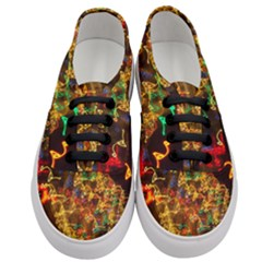 Christmas Tree Light Color Night Women s Classic Low Top Sneakers