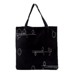 Feedback Loops Motion Graphics Piece Grocery Tote Bag