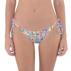 Circle Rainbow Polka Dots Reversible Bikini Bottom by Mariart