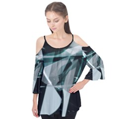 Fractured Light Flutter Sleeve