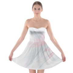 Whispy Strapless Dress