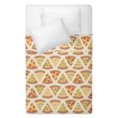 Food Pizza Bread Pasta Triangle Duvet Cover Double Side (single Size) by Mariart