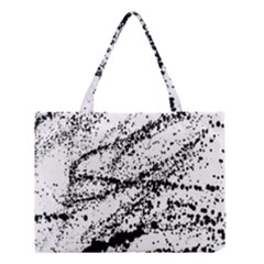 Ink Splatter Texture Medium Tote Bag by Mariart