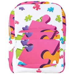 Passel Picture Green Pink Blue Sexy Game Full Print Backpack