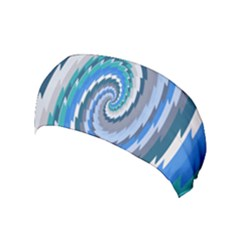Psycho Hole Chevron Wave Seamless Yoga Headband by Mariart