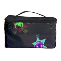 Random Doodle Pattern Star Cosmetic Storage Case by Mariart