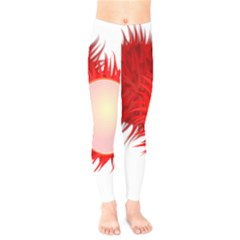 Rambutan Fruit Red Sweet Kids  Legging