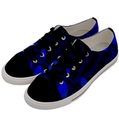 Spectrum Sputnik Space Blue Green Men s Low Top Canvas Sneakers by Mariart