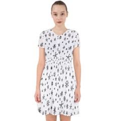 Star Doodle Adorable In Chiffon Dress