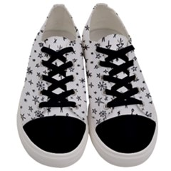 Star Doodle Men s Low Top Canvas Sneakers
