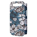Star Flower Grey Blue Beauty Sexy Samsung Galaxy S III Hardshell Case (PC+Silicone) View3