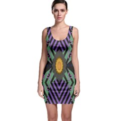 Secret Code Formula Sun Bodycon Dress