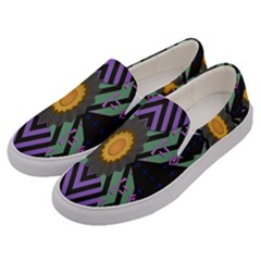 Secret Code Formula Sun Men s Canvas Slip Ons by Mariart