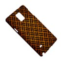 WOVEN2 BLACK MARBLE & YELLOW GRUNGE Samsung Galaxy Note 4 Hardshell Case View5